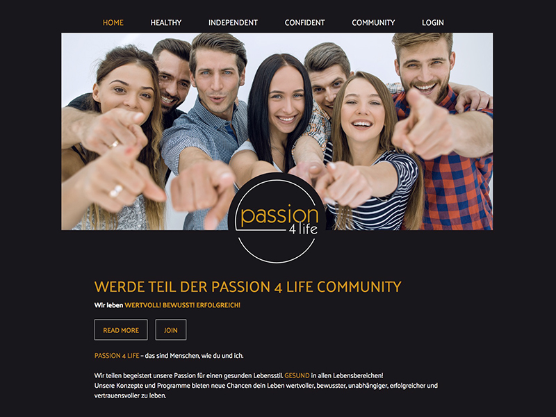Passion4Life – Join the movement