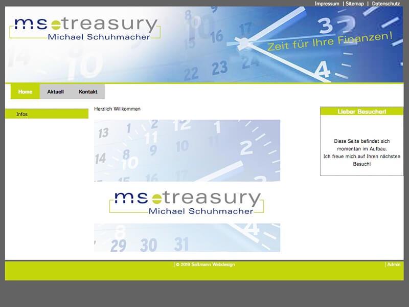 MS Treasury – Michael Schuhmacher