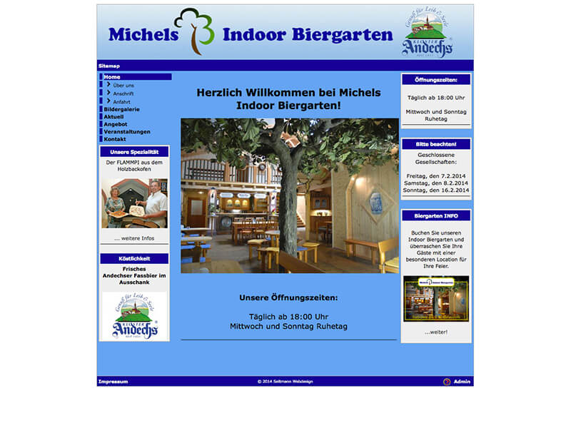Michels Indoor Biergarten