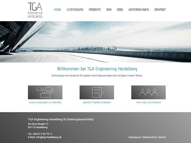 TGA Engineering, Heidelberg