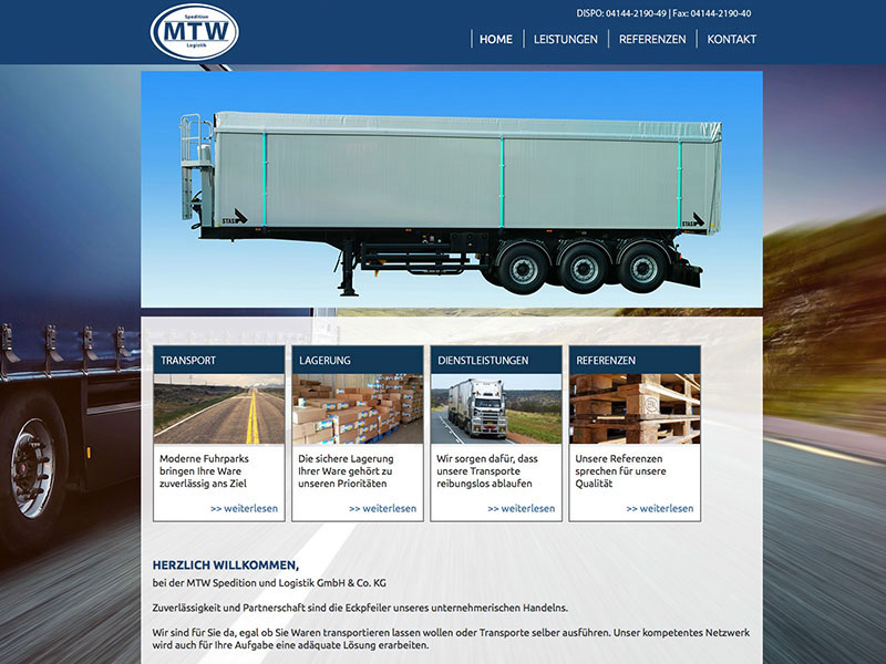 MTW Spedition und Logistik